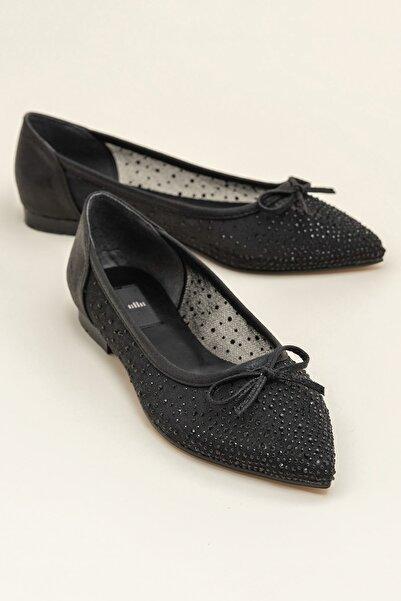 Elle Shoes JEANETTA Siyah Kadın Casual Ayakkabı