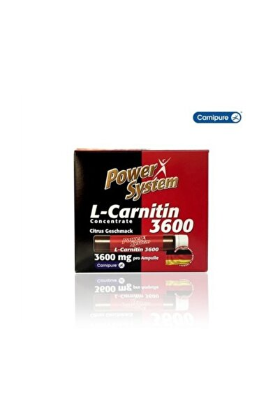 L-carnitine 3600 mg 20 Ampül - Limon Aroma -
