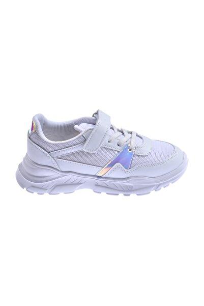 Ayakland Unisex Çocuk Günlük Fileli Cırtlı Spor Ayakkabı S11