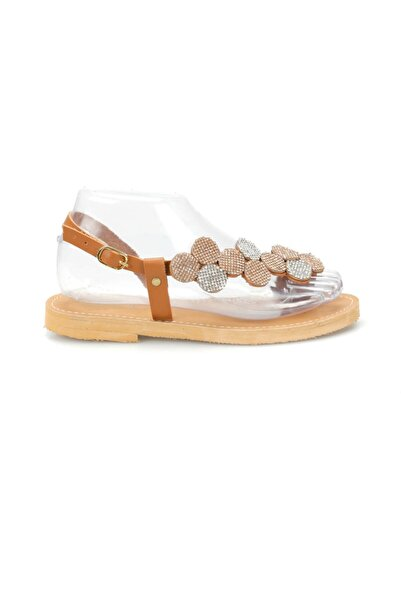 Miss F Taba Kadın Sandalet DS19082