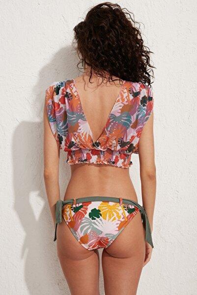 Kadın Bodrum Bikini Üstü LM20103 Hawai