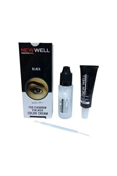 New Well Kaş Kirpik Boyası Siyah 15 ml 8680097218360