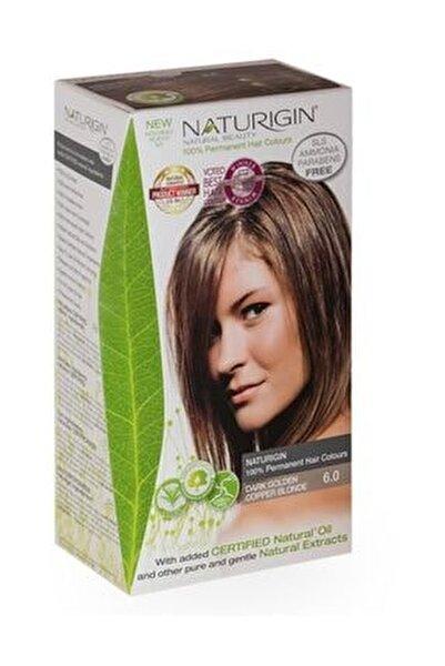Organik İçerikli Saç Boyası 6.0 Koyu Altın Bakır Kumral