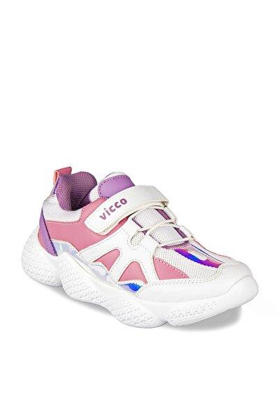 Vicco 346.P19K.133 Beyaz Erkek Çocuk Koşu Ayakkabısı