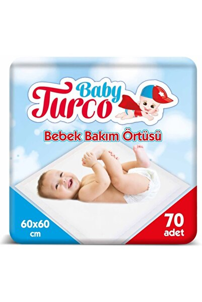 Baby Turco Bebek Bakım Örtüsü 70 Adet