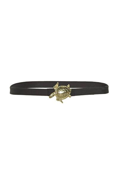 TRENDYOLMİLLA Siyah Kaplumbağalı Kemer TBESS20KE0008