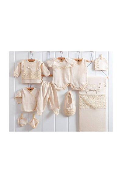 Kız Bebek 10 Parça Organik 0-3 Ay Hastane Çıkışı Seti