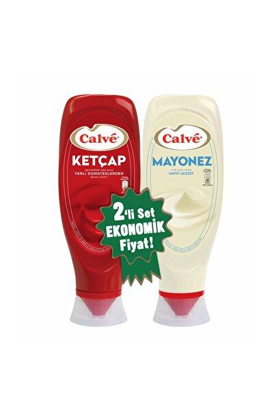 Calve Calvé Ketçap 600 G + Light Mayonez 540 G 2'li Set