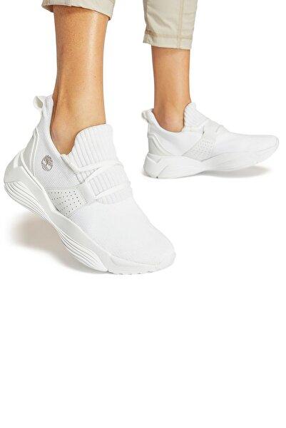 Timberland Timberland Emerald Bay Knit Sneaker Günlük Kadın Ayakkabı Beyaz