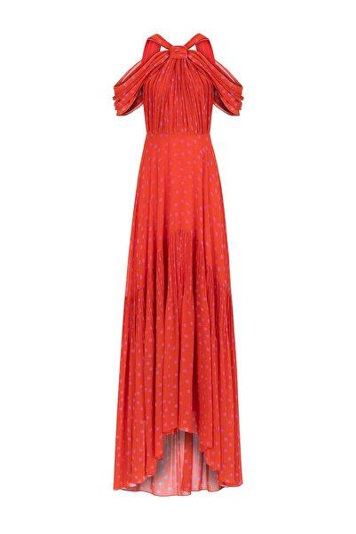 İpekyol Kadın Turuncu Elbise IS1190002328