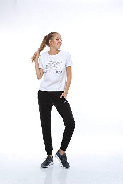 New Balance Wps003-wt Kadın T-shirt