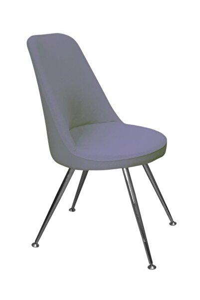 KILIFSAN Bal Peteği Gri Retro Sandalye Kılıfı