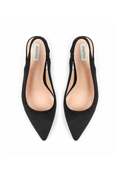 Kadın Siyah Topuk Detaylı Stiletto IS1200031002001