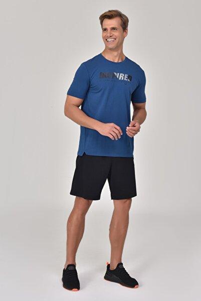 bilcee Lacivert Erkek T-Shirt GS-8809