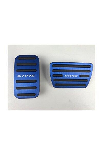REPLAX Honda Civic Fc5 Mavi Pedal Seti 2016-2020 Arası Geçmeli Model