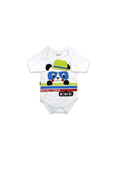 Miniworld Fotörlü Panda Desenli 3 Lü Bebek Takımı