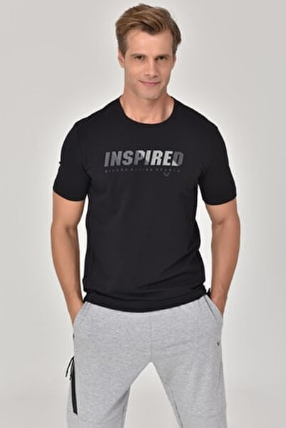 Siyah Erkek T-shirt  GS-8809