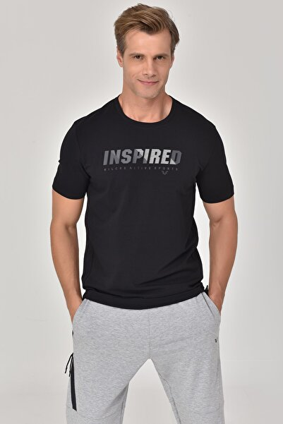 bilcee Siyah Erkek T-shirt  GS-8809
