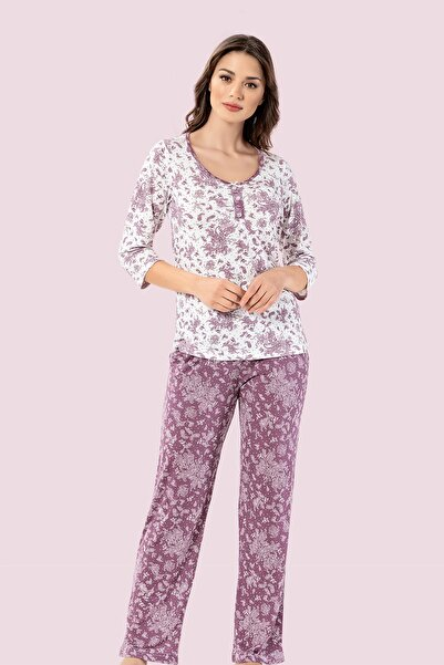 Mariposa Alezne 3/4 Kol Patlı Pijama Takım