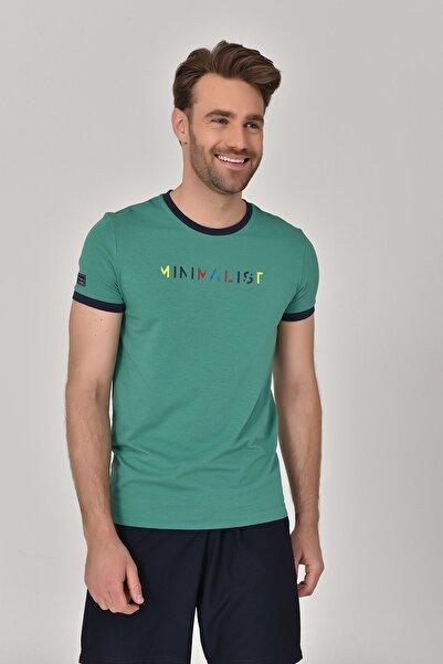 bilcee Yeşil Erkek T-Shirt GS-8250