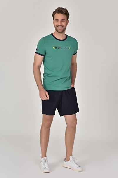Yeşil Erkek T-Shirt GS-8250
