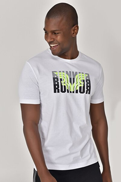 Beyaz Erkek T-shirt  GS-8811