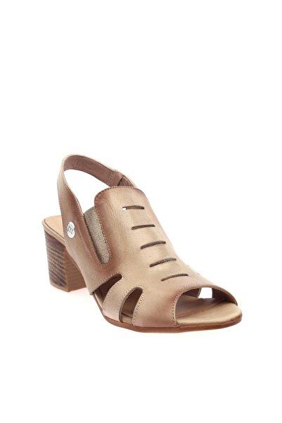 Mammamia Bej Faber Kadın Sandalet D20YS-1045