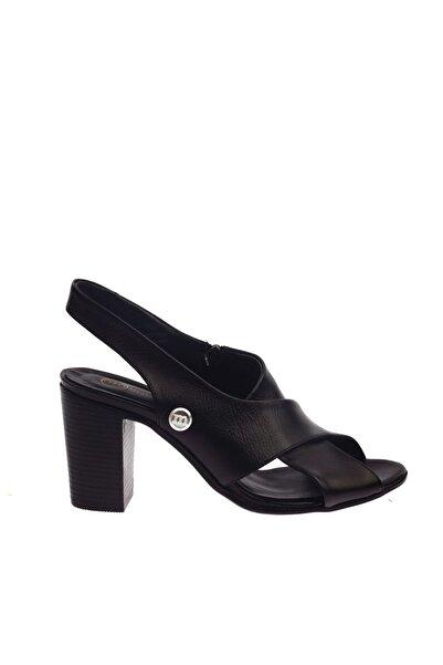 Mammamia Siyah Faber Kadın Sandalet D20YS-1050