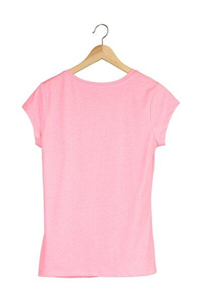Kadın T-Shirt - NB VOM TEE - V-WTT918-PNK