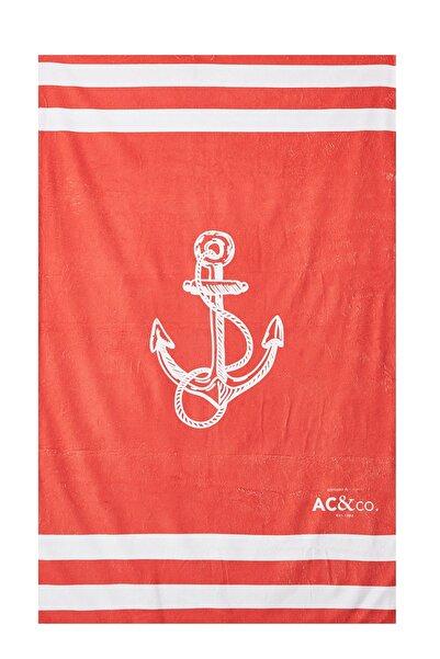 ALTINYILDIZ CLASSICS Kırmızı Plaj Havlusu 4A5419200003
