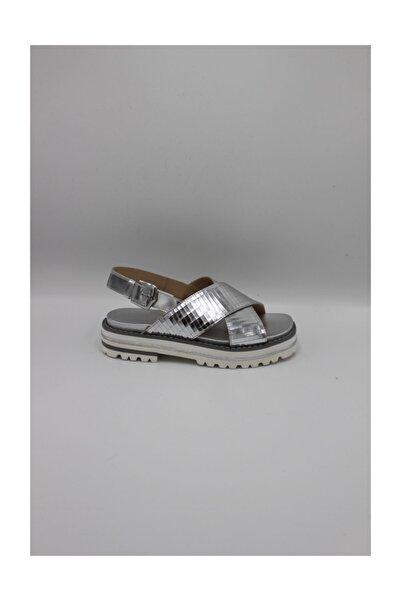 ALBERTO GUARDIANI Gd38021b/---/lr92--gümüş Bayan Deri Sandalet