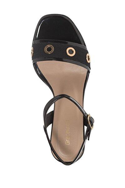 Graceland Deichmann Siyah Kadın Topuklu Sandalet