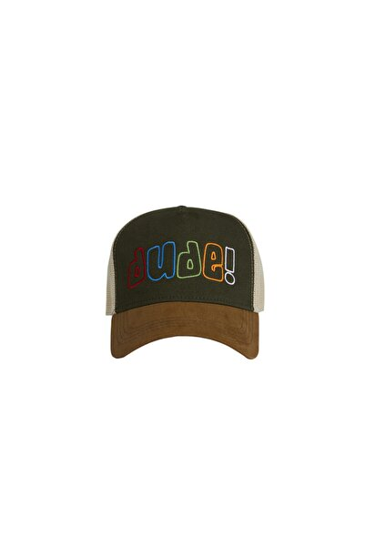 Bad Bear Haki Erkek Şapka FLATLINE CAP KHAKI