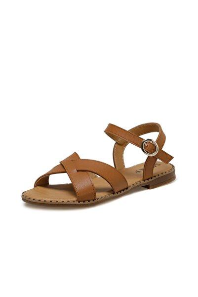 Miss F Taba Kadın Topuklu Ayakkabı DS20025
