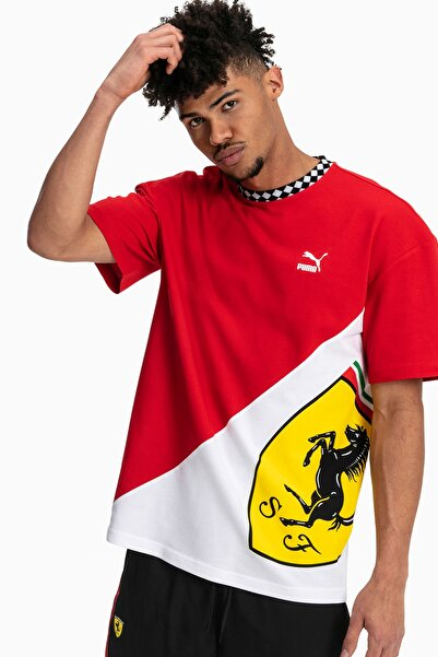 Erkek T-Shirt - Ferrari Energy Logo  - 59713201