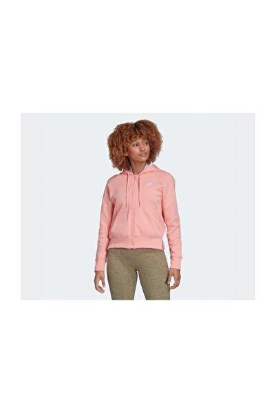 Pembe Kadın Günlük Ceket Fl1950 W Rib Hoodie