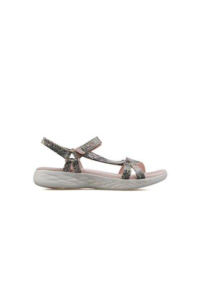 SKECHERS Kadın Günlük Sandalet 16320-lpmt On-the-go 600
