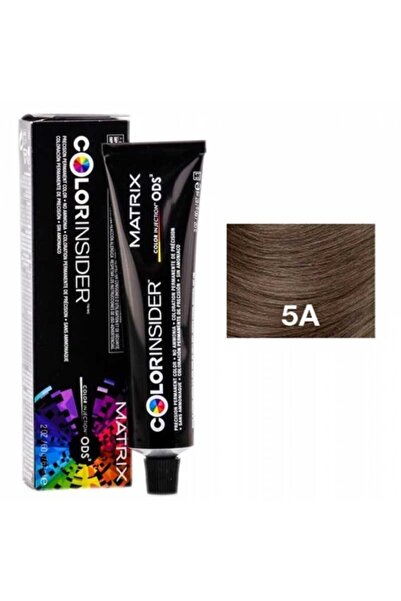 Matrix Color Insider Saç Boyası 5a 5.1 Medium Brown Ash