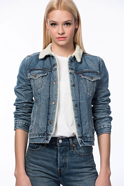 Levi's Kadın Jean Ceket 36136-0000