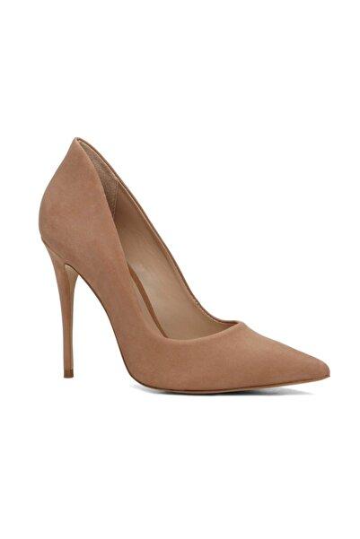 Aldo Süet ve Deri Natürel Kadın Klasik Topuklu  Ayakkabı 2028