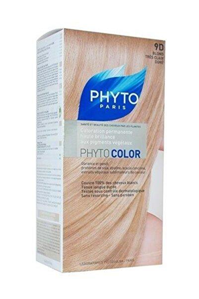Phyto Bitkisel Saç Boyası - Phytocolor 9D Açık Sarı Dore 0618059109737