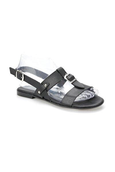 ART BELLA Siyah Kadın Sandalet