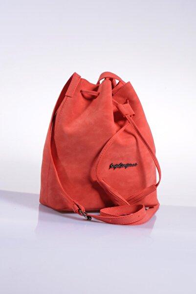 Sergio Giorgianni Kadın Kırmızı Omuz Çantası sg1867-mercan soft