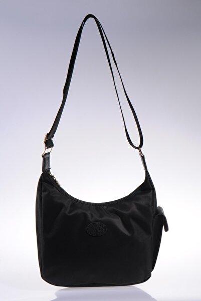 Milkshake Kadın Siyah Omuz Çantası msk9-siyah/siyah