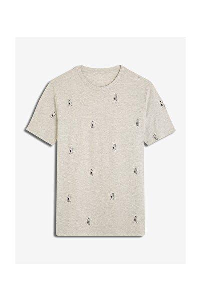 GAP Erkek Desenli Kısa Kollu T-Shirt