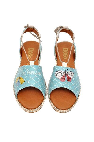 Dogo Les Papillons Kadın Bağcıklı Sandalet