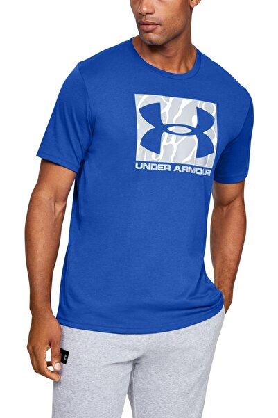 Under Armour Erkek Spor T-Shirt - Ua Camo Boxed Logo Ss - 1351616-486