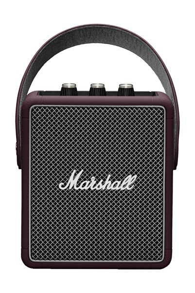 Marshall Stockwell Iı Burgundy Bluetooth Hoparlör