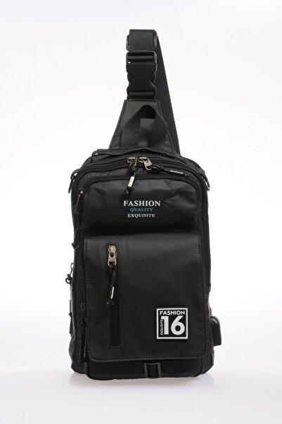 ÇÇS Siyah Erkek Body Bag Sırt Çantası Ççs31183