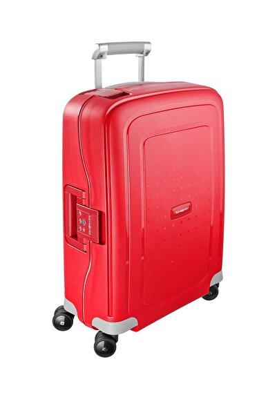 Samsonite Kırmızı Unisex S'Cure - 55 Cm Kabin Boy Valiz 30626